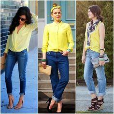 Eu sou apaixonada por amarelo! Uma cor super alegre, não é mesmo?!  Ano passado comprei uma camisa bem amarelona na C&A , e confesso que us...