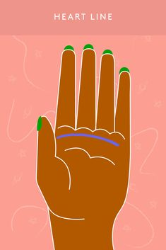 Palmistry For Beginners: A Guide To Reading Palm Lines Hand Lines Meaning, Intuition, Palm Reading Charts, Strong Curves, Palm Lines, Reading For Beginners, Astrological Symbols, Astrology Chart, Birth Chart