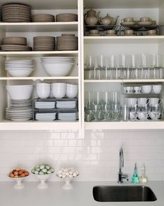 Conquer counter and cabinet clutter with these 14 clever and easy kitchen organizing tips!