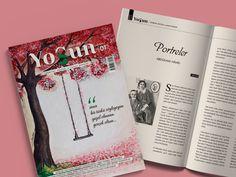 Yosun, edebiyat dünyasına yeni bir soluk getirmek isteyen yazarların oluşturduğu bir dergidir. Türk edebiyatına mütevazi bir katkı sunmak maksadıyla çıkılan bu yolda grafik tasarım konusunda birlikte çalışma fırsatı bulduk. Appreciation, Literature, Literatura
