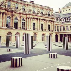 Palais Royal in Paris, France