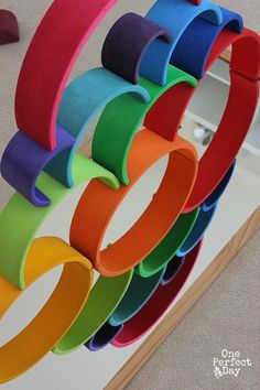 Mirror Play Ideas - Discovering Shapes and Symmetry - One Perfect Day