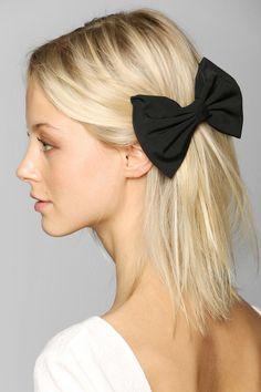 Large Bow Hair Clip $10.00