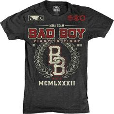 New Licensed Bad Boy MMA Lockout Mens Adult Lightweight T Shirt Tee | eBay