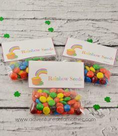 Rainbow Seeds Gift Bag Treats