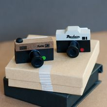 Camera Rubber Stamp Set