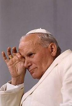 KAROL WOJTYLA, Masonic symbols Paul 2, Pope John Paul Ii, Catholic Priest, Catholic Saints, Pape Jeans, Papa Juan Pablo Ii, Papa Francisco, Hero Quotes, Pope Francis