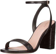 Aldo Women's Izabela Dress Sandal, Black Synthetic, 8 B US