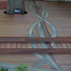 Design made with Fiberon composite decking