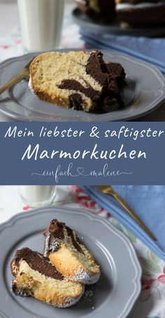 Saftiger Marmorkuchen – das beste Marmor Guglhupf Rezept aller Zeiten This juicy marble cake is a real classic. Anyone who likes cakes will love this perfect marble ring cake. The recipe is wonderfully straightforward. Breakfast Hotel, Ring Cake, Low Fat Yogurt, Vegan Blueberry, Marble Cake, Food Cakes, Yummy Cakes, The Best, Cake Recipes