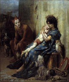 Gustave Doré (1832-1883) I saltimbanchi o il bambino ferito 1874 Olio su tela Cm 224 x 184 Clermont-Ferrand, Museo d'arte Roger-Quilliot
