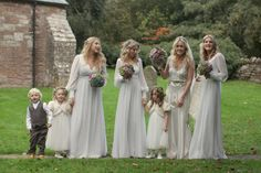 - Repinned by Prindler Productions -  Ridiculously pretty bridesmaids dresses in today's real wedding! http://www.youandyourwedding.co.uk/real-weddings/autumn/real-wedding-autumnal-glamour-in-herefordshire/20578.html …