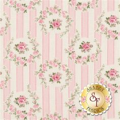 Barefoot Roses-Legacy PWTW050-PINK by Tanya Whelan for Free Spirit Fabrics: Barefoot Roses-Legacy is a collection by Tanya Whelan for Free Spirit Fabrics. Width: 43