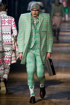 Less loving, more laughing that this A/W 2012 menswear piece