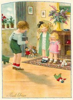 Pauli Ebner (1873-1949) — Old  Post Cards (500x687)