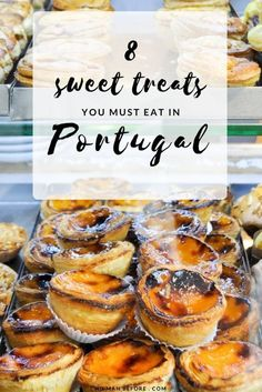 The Best Portuguese Desserts 8 Sweet Treats you must eat in Portugal Algarve, Portugal Vacation, Portugal Travel, Portugal Trip, Best Places In Portugal, Faro Portugal, Sintra Portugal, Portuguese Desserts, Portuguese Recipes
