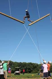 Horizontal giant swings