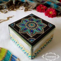 Спокойной ночи, Инстамир! Продана, возможен повтор: шкатулка для украшений из толстого стекла, зеркальные бока, 12/12/6,5 см - $55 CAD (скидка) ___ #styleyourhome #originalgifts #jewellerybox #jewelrybox