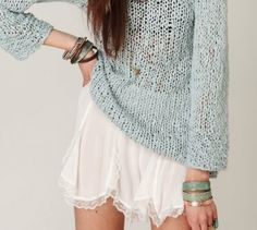 sweaters and slips