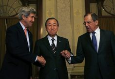 Пан Ги Мун отметил лидерство Лаврова и Керри по урегулированию сирийского кризиса.             Генеральный секретарь ООН Пан Ги Мун приветствовал итоги венских переговоров по&nbs