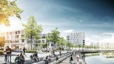 KCAP Wins Joint First Prize in Eteläpuisto Park Tampere Competition