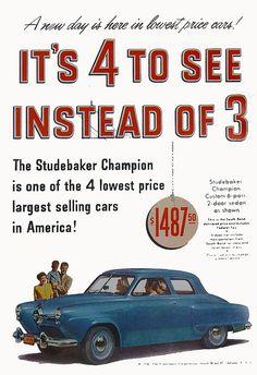 1950 Studebaker Custom Champion 2-Door Sedan