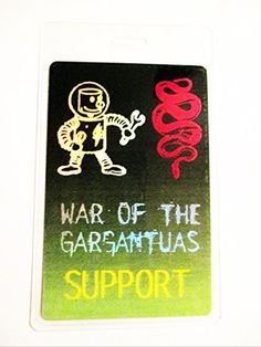 1996 Pantera White Zombie Rob Foil Laminated Backstage Pass Support Artist @ niftywarehouse.com