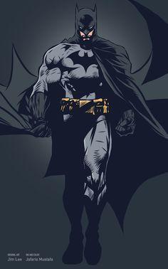 Batman original artwork by Jim Lee. Adobe Ideas on iPad. - Batman Canvas - Trending Batman Canvas - Batman original artwork by Jim Lee. Adobe Ideas on iPad. Comic Book Characters, Comic Character, Comic Books Art, Book Art, Dc Comics Art, Marvel Dc Comics, Batman Robin, Joker Batman, Gotham Batman