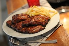 Ribs barbecue