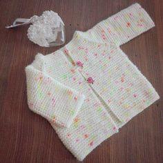 3 Yaş Hırka Kaç İlmek Başlanır? - Canım Anne Baby Knitting Patterns, Crochet Patterns, Crochet Diagram, Baby Cardigan, Knitting For Beginners, Knitting Needles, Doll Clothes, Summer Dresses, Sweaters