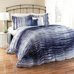 Lush Decor Pebble Creek Tie-Dye 5-pc. Comforter Set