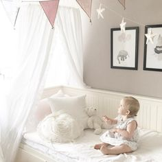 Wish | Fashion Nordic Style Dome Mosquito Nets Curtain for Bedding Set Princess Bed Valance Bed Netting Kids Room Decor