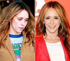 Prominente mit und ohne Make-up Jennifer Love Hewitt mit und ohne Make-up - - - - Makeup Photoshop, No Photoshop, Jennifer Love Hewitt, Jennifer Aniston, Celebrity Beauty, Celebrity Look, Makeup Tips, Hair Makeup, Celebs Without Makeup