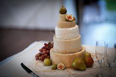 Formaggi Ocello Cheese Wedding Cake