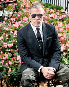 Nick Wooster - Sober charcoal with camo