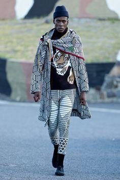 Chulaap Afro-zen AW16 collection #MakeArtNotWar #afrochic #menswear