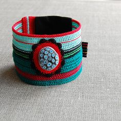 Crochet cuff | Flickr - Photo Sharing!