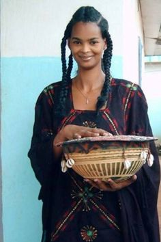 Senegalese Fulani Young Woman.
