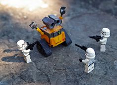 Star wars + wall-e
