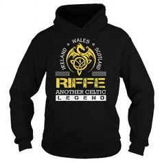 Awesome Tee RIFFE Legend - RIFFE Last Name, Surname T-Shirt Shirts & Tees