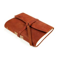 Brown Leather Journal ... I've always wanted to fill one of these with thoughts.