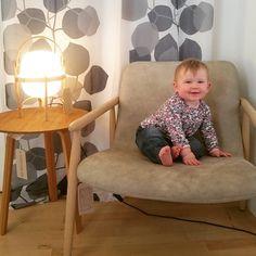 More munchkin product testing. 'Yeah it's pretty comfy' she says  #kids #minime #CatalogLtd @santacole #cestita @haydesign #bella @varaschin_spa #lapis #deploeg #blad #instadeco #contemporarydesign #ststephenstreet #stockbridgeedinburgh #stockbridge #edinburgh #scotland