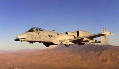 Photo: (c) USAF - An A-10 Thunderbolt II, bearing a green star, symbol of a cannon shot that was successful, and that was done against an Iraqi helicopter during the Gulf War in 1991.