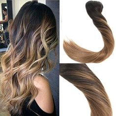 Balayage Ombre Black to Brown Clip in Human Hair Extension .- Balayage Ombre S. Balayage Ombre Black to Brown Clip in Human Hair Extension .- Balayage Ombre Schwarz bis Braun Clip in Echthaarver Dyed Hair Ombre, Brown Ombre Hair, Ombre Hair Color, Hair Colors, Balayage Auburn, Balayage Ombré, Ombre Bayalage, Caramel Balayage, Best Human Hair Extensions