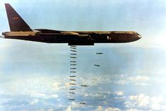 """The """"Tet Offensive"""" was a major turning point of the Vietnam War. The North Vietnamese and Viet Cong staged a major offensive against South Vietnam. Us Military Aircraft, Military Jets, B 52 Stratofortress, Vietnam War Photos, North Vietnam, Aircraft Photos, War Machine, Military History, Afghanistan"""