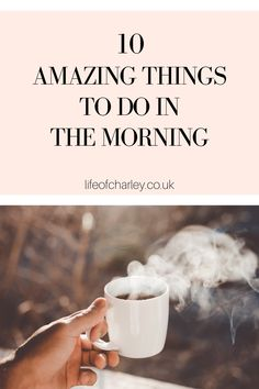 10 practices for your daily morning routine that will promote success in your day! #success #morning Your Best Life Now, Life Is Good, Morning Habits, Are You Happy, Routine, Things To Do, Success, Healthy, Amazing