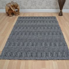 Sloan rugs in black buy online from the rug seller uk