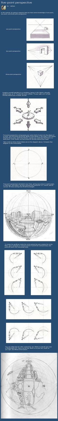 A brief tutorial on five point perspective. I'd love to get your feedback on this!