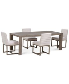 Kips Cove Dining Furniture 5 Pc Set Dining Table 4 Side