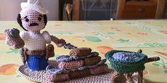 Al via il SAL sul Presepe all'uncinetto 2015: il muratore